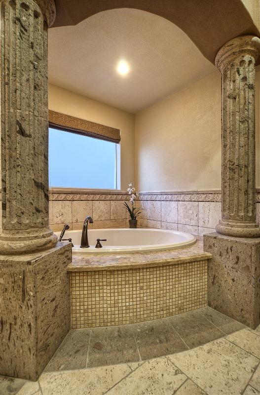 Allure designs bathrooms design for Roman bathroom design ideas